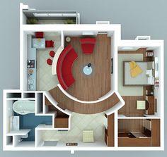 Plan De Maison 3d On Pinterest