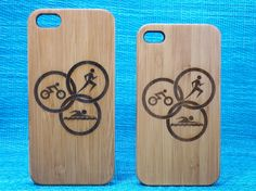Shop for on Etsy, the place to express your creativity through the buying and selling of handmade and vintage goods. Gifts For Triathletes, 5s Cases, Triathlon, Iphone 4, Circles, Swimming, Cnc, Creative, Phone Case