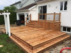 Ideas for easy patio roof pergolas Backyard Plan, Backyard Patio, Diy Patio, Backyard Ideas, Outside Patio, Patio Roof, Patio Tiles, Patio Steps, Brick Patios