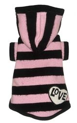 Pet Pullover Sleeveless Knit Pink Color Theme Puppy Dog Sweater L M S XS