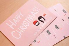 Ello There Christmas cards via WeeBirdy.com