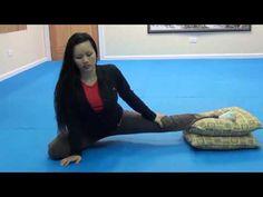 Jenny: Secret Split Stretching Tips for Ultimate Flexibility [FMK Women's Fitness Training] - YouTube