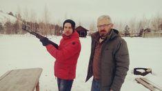 Automatic Kalashnikov AKM against Beretta shotgun | Actor: Alexey Molyanov | www.AlexeyMolyanov.com | Business queries : mail@alexeymolyanov.com Beretta Shotgun, Akm, Canada Goose Jackets, Winter Jackets, Actors, Business, Fashion, Winter Coats, Moda