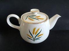 Tea Pot Homer Laughlin Wheat  $18.99