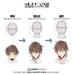 트위터 age differences on design for same character