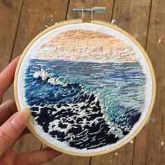 Embroidery by UsedthreadsShop on Etsy More like... |