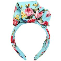 Dolce & Gabbana Women Floral Printed Silk Headband ($700) ❤ liked on Polyvore featuring accessories, hair accessories, head, sky blue, silk headband, dolce gabbana headband, floral headbands, floral headwrap and hair band headband