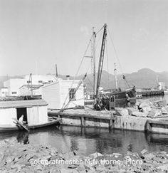 Florø by, hamneområde i indre hamn ved moloa. Båten midt på bilde er dykkerbåten til Svein Seljeseth. Sailing Ships, Boat, Pictures, Dinghy, Boats, Sailboat, Tall Ships, Ship