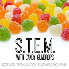 Gumdrop Bridge Building Stem Engineering Activity