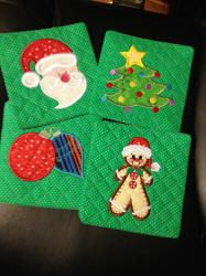 Jiffy Christmas Applique Embroidery Designs