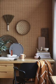 This is the latest work of talented stylist Susanna Vento for the upcoming fall catalog of Finnish design brand Marimekko. The pictures are shot in a a home with a lot of wood, which is matched with props in very … Continue reading → Marimekko, Decorating Your Home, Interior Decorating, Interior Design, Interior Architecture, Home Office Decor, Home Decor, Scandinavian Design, Nordic Design