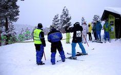 Slalomskiskyting er en morsom kombinasjon av slalomkonkurranse og skyting med luftvåpen. Kun i Dagali Fjellpark.