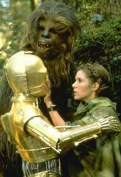 Leia calla a C3PO Endor rotj 01