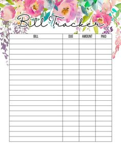 The Best 2019 Free Printable Planner to Organize Your Life! /// Pages The Best 2019 Free Printable Planner to Organize Your Life Pages is waiting for you at The Cottage Market! It will totally organize your New Year! Bill Planner, Free Planner, Budget Planner, Planner Template, Weekly Planner, Happy Planner, Year Planner, Planner Sheets, Financial Planner