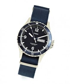 Military watch by Timex  Available at J.Crew mens shop