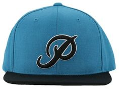Teal Classic P Logo Snapback Cap by PRIMITIVE 5 Panel Hat a910ae727baf