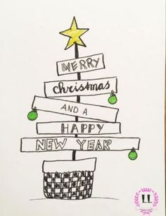 Great Merry Christmas and a Happy New Year - Weihnachten Merry Christmas Drawing, Merry Christmas And Happy New Year, Christmas Svg, Christmas Quotes, Merry Happy, Watercolor Christmas, Happy Year, Chrismas Cards, Holiday Cards