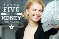 Five ways to earn money with Morinda