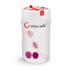 Train your Kegels with these fabulous Geisha Balls 2 - the ultimate kit in heightening, tightening and lifting your vaginal muscles - and discover orgasmic pleasure.