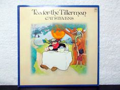 Cat Stevens Tea For The Tillerman. Original 1970 vinyl LP 33. AbqArtistry