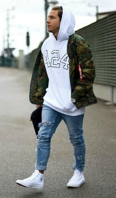 Casual Camo. Shop this look at The Idle Man #StyleMadeEasy