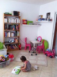 Montessori am nagement d 39 un coin lecture dans une chambre d 39 enfant chambre enfant - Coin lecture chambre fille ...
