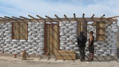 15 Building Methods And Their Advantages: Earthbag-Example-02.jpg