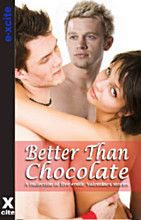 A collection of five erotic stories with mixed Valentines themes including threesome, bdsm and partner swapping.Better Than Chocolate by Amelia ThorntonThe last thing she wants after a tedious Valenti. Valentine Theme, Valentines, Erotic, Romances, Chocolate, Reading, Awesome Stuff, Sexy, Books