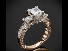 Stunning yellow gold ring