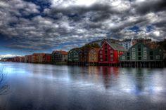Trondheim City, Norway