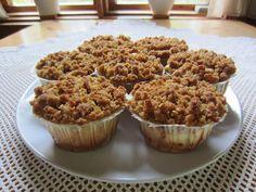 Herkkuja leipomassa: Omenajuustokakkumuffinssit/ Apple Cheesecake Muffi... Apple Cheesecake, Breakfast, Food, Morning Coffee, Meals, Yemek, Morning Breakfast, Eten