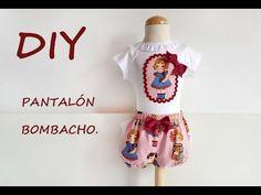 Pantalón bombacho: Como hacer un pantalón bombacho para niños. - YouTube