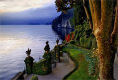Garden gateway to beautiful Lago di Como, Lombardy, northern Italy Beautiful Places To Visit, Wonderful Places, Heavenly Places, Amazing Places, Places To Travel, Places To See, Lake Como Italy, Italy Pictures, We Are The World
