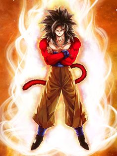 Dragon Ball no Senpai Anime! Dragon Ball Gt, Fanarts Anime, Manga Anime, Super Saiyan 4 Goku, Gogeta And Vegito, Akira, Real Anime, Epic Characters, Dragon Images