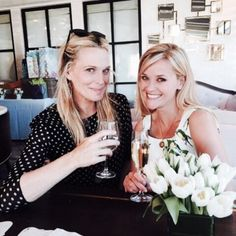 Molly Sims - Good luck tonight! Had fun celebrating Meredith with you. #southerngirls #gingeralecocktails @reesewitherspoon go see #WildMovie #soogood
