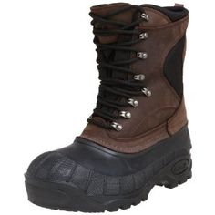 Kamik Men's Cody Insulated Boot by Kamik. $159.50. Leather and textile. Waterproof. Amazon.com                You'll be in control out in the snow and sleet when you wear the Cody boot from Kamik. Its waterproof upper will keep you completely dry and warm, especially with its removable insulated lining and lace-up front that will keep you all tucked in. Its tractioned rubber sole will overcome any icy obstacle and even keep you looking good with its luxe leather upper. No...