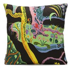 Cushion by Svenskt Tenn, fabric design by Josef Frank