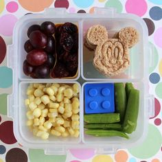 Cute Mickey Mouse Bento Box for Kids - Cookie Cutter Sandwich