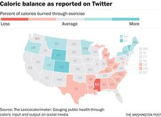 Twitter can tell which states love jogging and which are eating hot dogs - The Washington Post