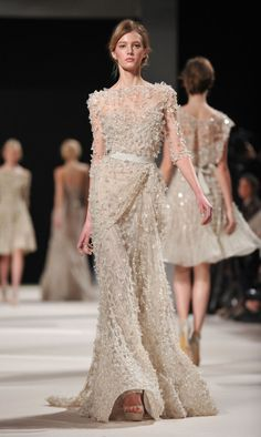 If  I ever had a chance to walk the red carpet, i would definitely be wearing Elie Saab