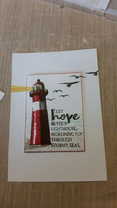 Stampin up High Tide Stamp set. By Dawn Watson
