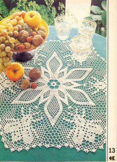 Kira scheme crochet: Scheme crochet no. 1079