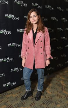 Jenna-Louise Coleman - Panel at AlienCon in Baltimore, Maryland. David Tennant Doctor Who, Doctor Who Quotes, Clara Oswald, Rory Williams, Donna Noble, Amy Pond, Jenna Coleman, Matt Smith, British Actresses