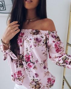 WOMENS LADIES CHIFFON FLORAL PRINT ELASTICATED OFF SHOULDER GYPSY CROP TOP VEST