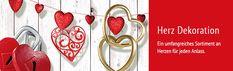 Suchen Sie nach Valentinstag-Ideen? In unserem DekoWoerner Onlineshop bieten wir eine große Auswahl an Deko Herzen. Der perfekte Begleiter für ihre Valentinstagdeko.❤️