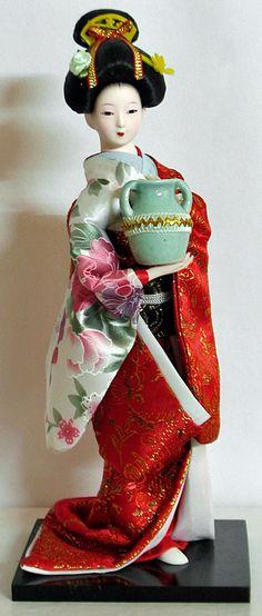 Porcelain And China Marks Japanese Theme, Japanese Geisha, Japanese Kimono, Japanese Lady, Japanese Dresses, Japanese Doll, Matryoshka Doll, Kokeshi Dolls, Miniatures