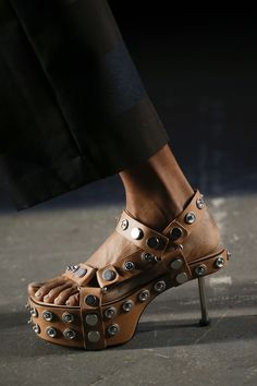 Shoes, boots and sandals - see them all from the spring/summer 2016 collections