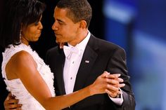 Barack & Michelle Obama  Such a classy couple.  I'm proud they represent our country.