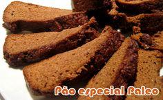 Pão especial - Receitas Paleo #receitas #receitaspaleo #dieta #fitness