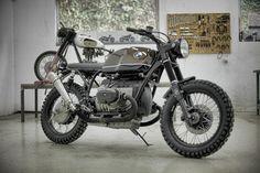 combustible-contraptions: BMW Brat Track | Scrambler